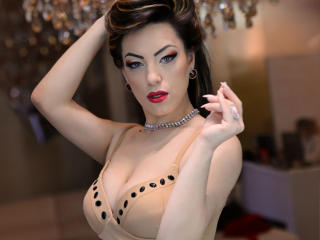 Photo de profil sexy du modèle AnabelleSam, pour un live show webcam très hot !