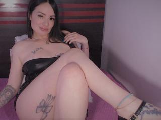 Velmi sexy fotografie sexy profilu modelky FlowerLiz pro live show s webovou kamerou!