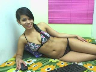 Picture of the sexy profile of Kharla, for a very hot webcam live show !
