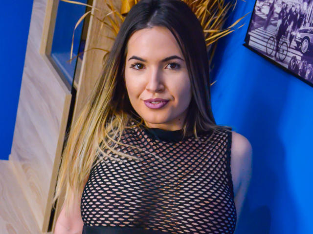Photo de profil sexy du modèle ChristineJo, pour un live show webcam très hot !