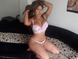 TsXWildCock strap on webcam sex