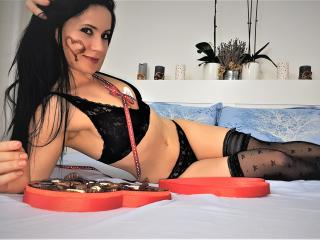Photo de profil sexy du modèle Adia, pour un live show webcam très hot !