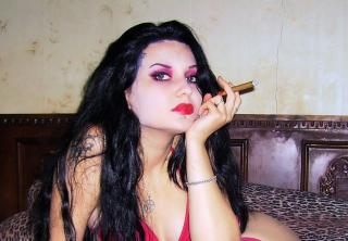 Velmi sexy fotografie sexy profilu modelky AliceAdore pro live show s webovou kamerou!
