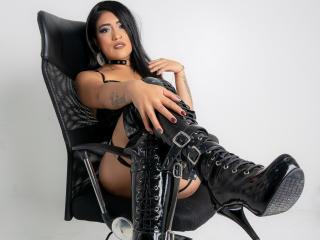 Hình ảnh đại diện sexy của người mẫu AmandaSinful để phục vụ một show webcam trực tuyến vô cùng nóng bỏng!