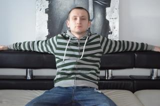 Picture of the sexy profile of ArronByg, for a very hot webcam live show !