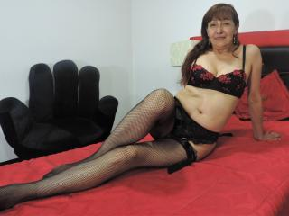 Picture of the sexy profile of ConyMature, for a very hot webcam live show !
