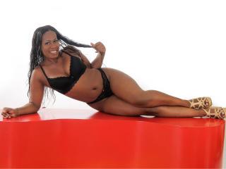 Velmi sexy fotografie sexy profilu modelky CrazyBigAss pro live show s webovou kamerou!