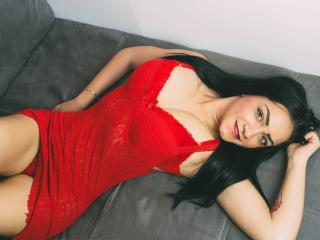 Picture of the sexy profile of CuteBrunna, for a very hot webcam live show !
