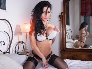 Velmi sexy fotografie sexy profilu modelky DivaClara pro live show s webovou kamerou!