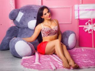 Velmi sexy fotografie sexy profilu modelky ElenSweet pro live show s webovou kamerou!