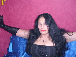Picture of the sexy profile of EvilGoddes, for a very hot webcam live show !