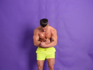Picture of the sexy profile of FantasyHotBoy, for a very hot webcam live show !
