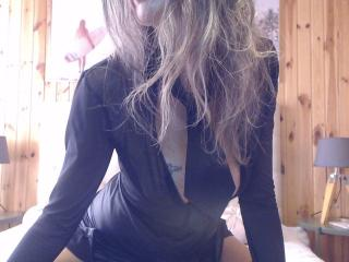 Sexet profilfoto af model FrenchPlumeX, til meget hot live show webcam!
