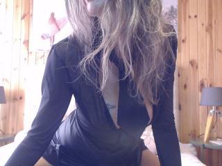 Velmi sexy fotografie sexy profilu modelky FrenchPlumeX pro live show s webovou kamerou!
