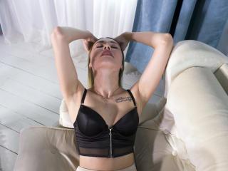 Velmi sexy fotografie sexy profilu modelky ImAloneHome pro live show s webovou kamerou!