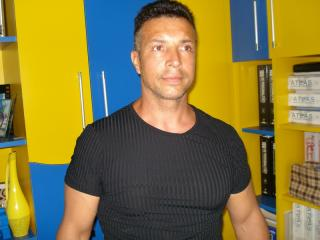 Picture of the sexy profile of Karllos, for a very hot webcam live show !