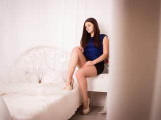 Velmi sexy fotografie sexy profilu modelky KerolaynKen pro live show s webovou kamerou!