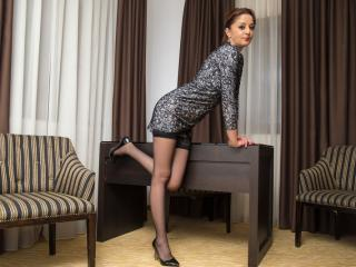 Picture of the sexy profile of LadyIsabell, for a very hot webcam live show !