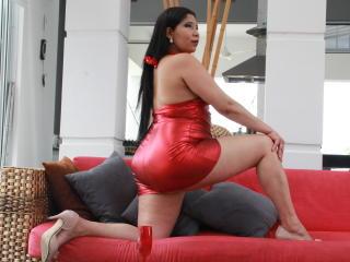 Velmi sexy fotografie sexy profilu modelky Leiiza pro live show s webovou kamerou!