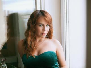 Velmi sexy fotografie sexy profilu modelky LizaFancy pro live show s webovou kamerou!
