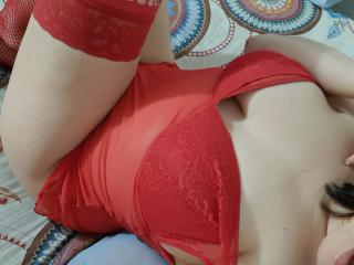 Photo de profil sexy du modèle MelanieBusty, pour un live show webcam très hot !
