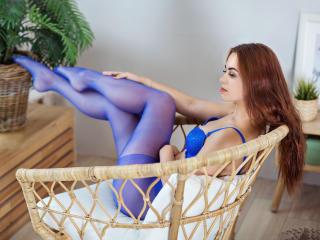 Velmi sexy fotografie sexy profilu modelky MiracleRose pro live show s webovou kamerou!