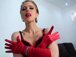 Picture of the sexy profile of MistressOfYou, for a very hot webcam live show !