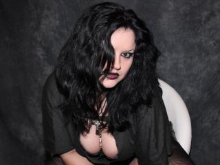 Velmi sexy fotografie sexy profilu modelky MsBlackWidoow pro live show s webovou kamerou!