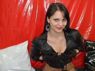 Picture of the sexy profile of NoirAnge, for a very hot webcam live show !