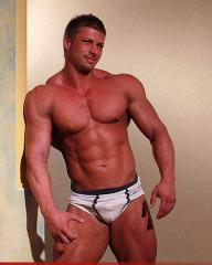 Picture of the sexy profile of OneHotMuscles, for a very hot webcam live show !