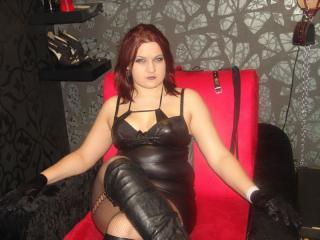 Sexy profilbilde av modellen  QueenEvee, for et veldig hett live webcam-show!