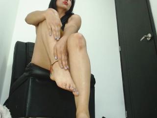 Velmi sexy fotografie sexy profilu modelky Rosia pro live show s webovou kamerou!