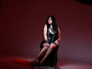 Velmi sexy fotografie sexy profilu modelky SwitchAkasha pro live show s webovou kamerou!