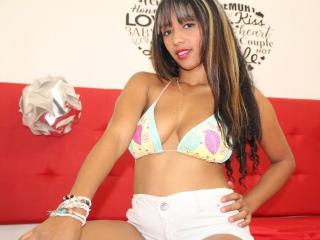Picture of the sexy profile of Thalianasanchez, for a very hot webcam live show !