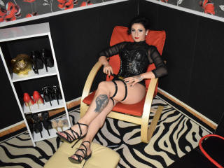 Foto de perfil sexy de la modelo VelvetMistress, ¡disfruta de un show webcam muy caliente!