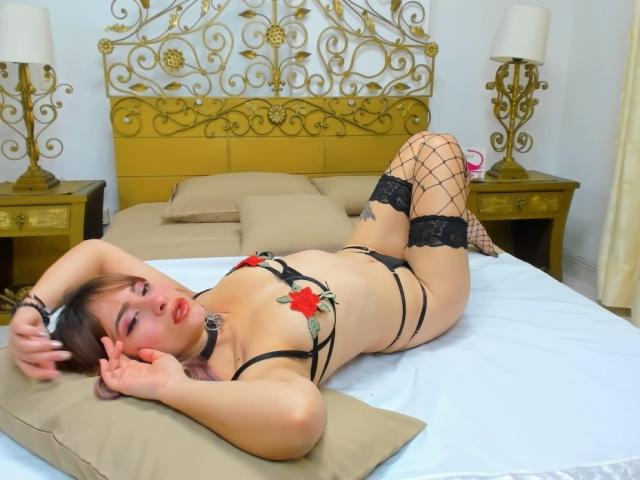 Picture of the sexy profile of AlexiaSage, for a very hot webcam live show !