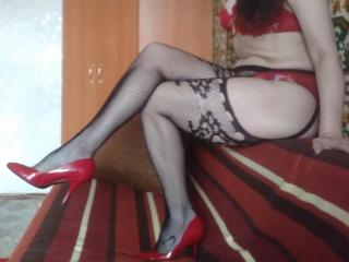 RositaSky - Webcam live exciting with a ordinary body shape MILF
