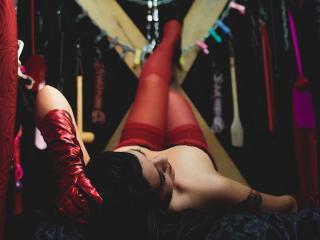 Photo de profil sexy du modèle Sarafetish, pour un live show webcam très hot !