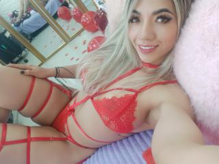 Photo de profil sexy du modèle SofiSexCute, pour un live show webcam très hot !
