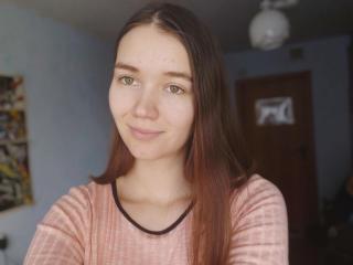 Photo de profil sexy du modèle KikiBella, pour un live show webcam très hot !
