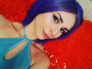 Photo de profil sexy du modèle MissKrisy, pour un live show webcam très hot !