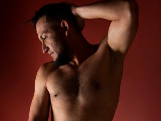 Picture of the sexy profile of LeoAdams, for a very hot webcam live show !