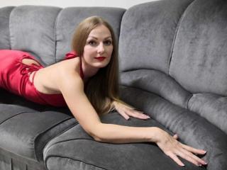 Poza sexy de profil a modelului RudiQueen, pentru un intens show webcam live !