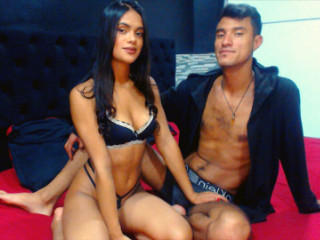 Sexy profilbilde av modellen  CookiesAndCream, for et veldig hett live webcam-show!