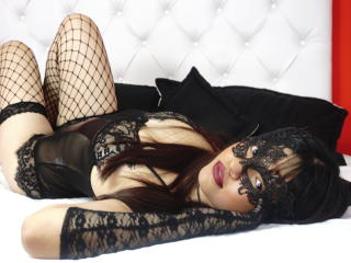 Sexet profilfoto af model JulietaRossex, til meget hot live show webcam!