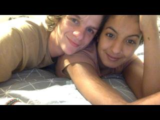 ChocolateAndVanillaSwirll - Video chat x with this cocoa like hair Girl and boy couple