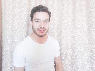 Sexy Profilfoto des Models DavidFabere, für eine sehr heiße Liveshow per Webcam!