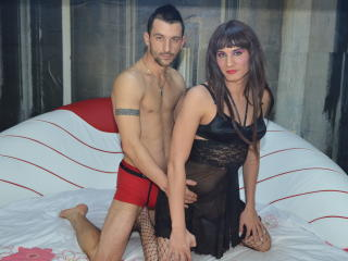 Sexy Profilfoto des Models AlexVsTasha, für eine sehr heiße Liveshow per Webcam!