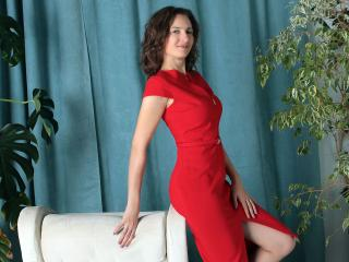 Sexet profilfoto af model AngelicaOrange, til meget hot live show webcam!
