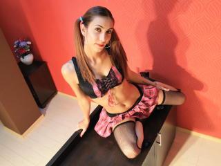 Photo de profil sexy du modèle SexyHotCarabela, pour un live show webcam très hot !